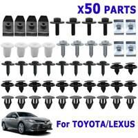 50X For Toyota Lexus Engine Cover Clip Screw Undertray Splash Apron Liner