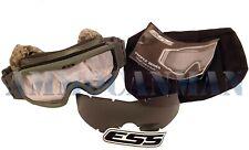 ESS Profile NVG Eyeshield Goggle Unit Issue Kit Foliage Green Clear & Smoke Gray