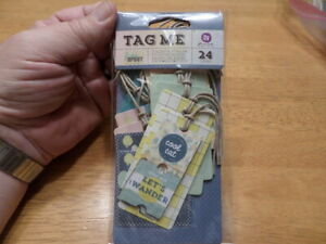 Tag Me by free spirit ~24Gift Hang Tags~Scrapbooking~Card Making~Party Favors