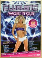 Clubland Work it Out DVD Exercise / Fitness Workout Dance Routine
