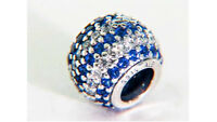 New Authentic Pandora Charm Blue Nautical Pave Lights Sterling Silver 791172NCB