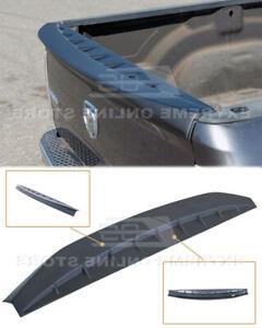 Tailgate Rear Wing Spoiler For 09-18 Ram 1500 2500 3500 ABS Plastic PRIMER BLACK