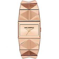 Karl Lagerfeld KL2610 Rose Gold Stainless Steel Pyramid Ladies Watch $250.00