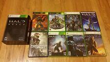 Halo 1 2 3 4 Wars ReachLimited EditionODST Legends Forward Unto Dawn XBOX 360