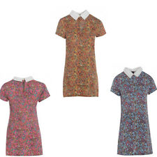 Collar All Seasons Short Sleeve Dresses for Women