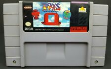 Toys (Super Nintendo Entertainment System, 1993) Snes Cartridge Only Tested
