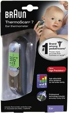 Braun ThermoScan 7 Ear Thermometer, IRT6520BUS, Black