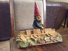 "Tom Clark Gnome ""Scrabble"" Edition 38 1991 Signed Cairn studios"