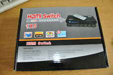 3D 1080p 5 Port 4K x 2K HDMI Switch Switcher Selector Splitter Hub IR  FO TV