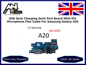 Samsung A20 SM-A205 Charging Port Dock Mic Type C USB Replacement Board