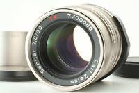 [MINT] CONTAX Carl Zeiss Sonnar T* 90mm f/2.8 Lens + GG-3 Hood G1 G2 From Japan