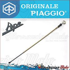 ASTA CONTROLLO OLIO ORIGINALE PIAGGIO APE MP601 CLASSIC 420 cc 2006 - 2013