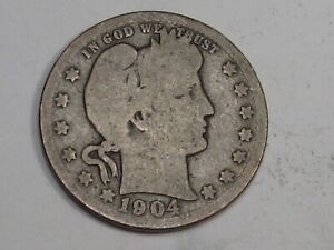 Better Date 1904-o Barber Quarter. #40