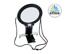 More details for magnifier magnifying glass for reading small print jewelry books with led lights