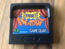 Game Gear:      DYNAMITE HEADDY      en loose