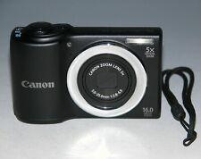 Canon PowerShot A810 16.0MP Digital Camera - Black