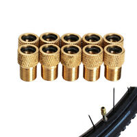 10x Schrader Valve Adapter Converter Road Bike Cycle Bicycle Pump Creative New W