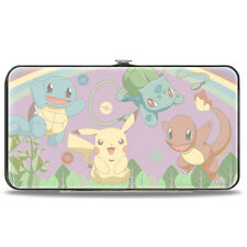 "NEW Buckle Down X Pokemon ""PIKACHU KANTO"" Hinged Wallet -SALE"