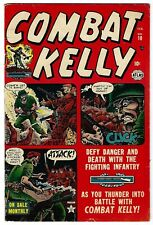 Combat Kelly #10- Joe Maneely cover and art - Used in POP  - TGL