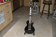 1980 Black Epiphone Gibson Les Paul Custom 3 Pickup Cheater Frampton