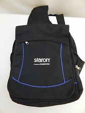 NEW Staron by Samsung Black Backpack Single Strap Messenger Laptop PC Case Bag