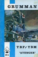 Grumman TBF/TBM Avenger Aero Series Vol.21 Reference Book U2