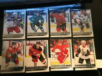 2018-19 UPPER DECK YOUNG GUNS LOT 8