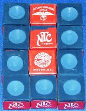 Cue Chalk ~ NTC ~ color:  BLUE ~ 12 pieces