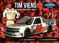 Autographed 2020 Tim Viens #03 Trump Pence Keep America Fast Postcard