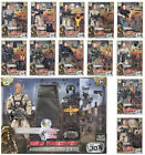 """World Peacekeepers 12"""" Action Figures Military Army Action Figures or Halo BNIB"""