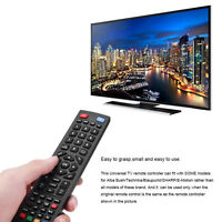 Portable Remote Control for Technika Blaupunkt SHARP E-Motion LCD LED Smart TV