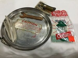 VINTAGE COLEMAN 220 LANTERN ACCESSORY SAFE AND CONTENTS