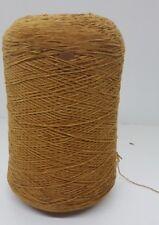 Wolle NaturGarn Stricken Weben Handstricken|Chenille baumwolle gold 1,5kg cf110