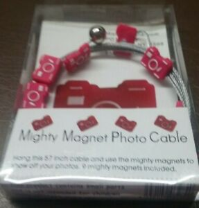 MISHU Designs Mighty Magnet Photo Cable 57 inch- Red Camera