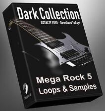 Rock Loops Dark Collection Part 5 Cubase Reason Presonus Ableton Logic FL Studio