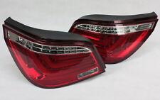 LED BAR RÜCKLEUCHTEN für BMW 5er E60 LIMOUSINE RED CLEAR LIGHTBAR LED BLINKER
