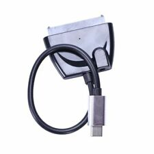 Type C Usb 3.1 Male To Sata 22 Pin 2.5/3.5 In Hard Disk Driver Ssd Adapter O5M5