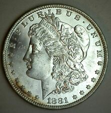 1881 O Morgan Silver Dollar Uncirculated New Orleans Mint Coin #R