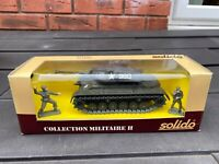 Solido No 6065 Patton Tank In Its Original Box - Nice Model In Box