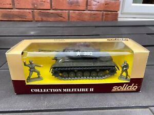 Solido No 6065 Patton Tank In Its Original Box - Nice Model In Box