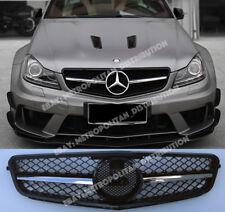 Mercedes C w204/c204/s204 saloon/coupe,AMG C63 grille,black+chrome single fin
