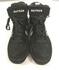 Matman Wrestling So50 Black Silver Wrestling Shoes Adult Size 8