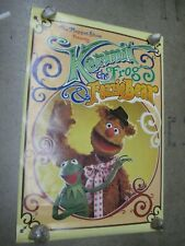 Kermit the frog presents Fozzie Bear Poster Vintage 1976 The muppets show C950