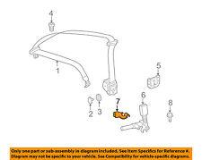 MERCEDES OEM 06-09 CLK350 Rear Seat Belts-Buckle Cover Left 2038681139