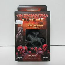 The Walking Dead All Out War Miniatures Game - Rick on Horse NEW