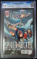 """Amazing Spider-Man #672 Marvel Comics CGC 9.8 White Pages """"Death"""" of the Queen"""