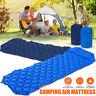 Ultralight Portable Inflatable Sleeping Mattress Camping Mat With Pillow Bag *