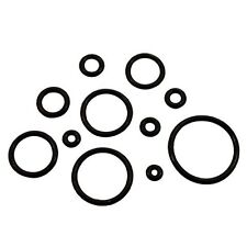 """PAIR-Replacement Silicone Black O Rings For Ear Plugs/Tapers 19mm/3/4"""" Gauge Bod"""