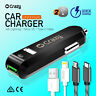 Crazy Dual Usb Car Charger 2 Port fast charge For iPhone 6 7 8 X Plus Galaxy