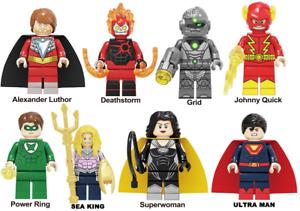 Lex Luthor Deadthstorm Grid DC Comics Marvel Minfigures Johnny Quick lego MOC